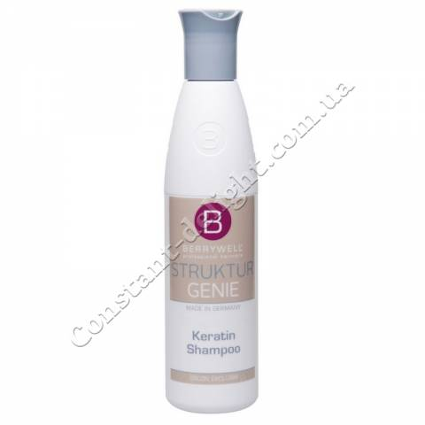Шампунь для волос с кератином Berrywell Keratin Shampoo 251 ml