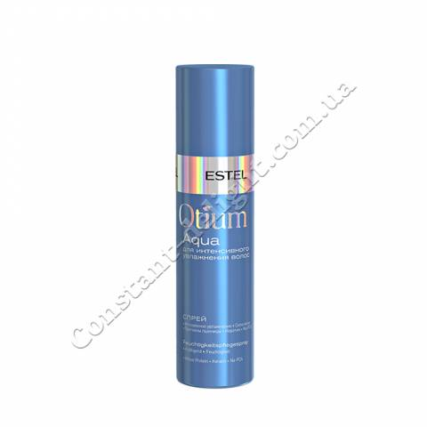 Спрей для интенсивного увлажнения волос Estel OTIUM AQUA 200 ml