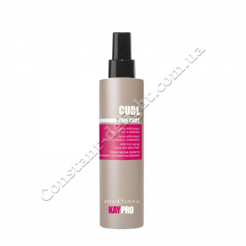 Спрей против сухости для вьющихся волос KayPro Curl Hair Care Spray 200 ml