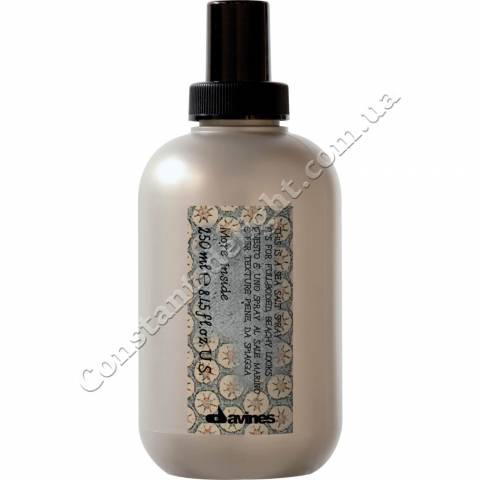 Спрей с морской солью для объемных свободных укладок Davines More Inside Sea Salt Spray 250 ml