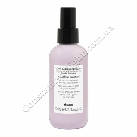 Сухое масло-спрей для волос Davines Your Hair Assistant Silkening oil mist 120 ml