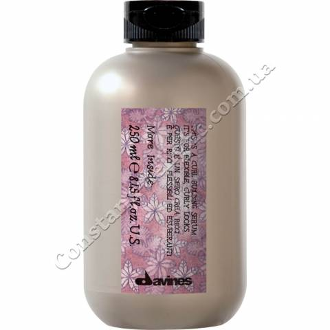 Сыворотка для создания упругих эластичных завитков Davines More Inside Curl Building Serum 250 ml