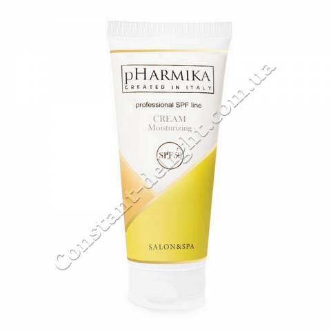 Увлажняющий крем для лица с Коэнзимом Q10 pHarmika Cream Moisturizing Coenzyme Q10 SPF 50, 200 ml