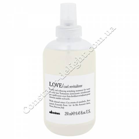 Восстанавливающий спрей для усиления завитка волос Davines Love Curl Revitalizer 250 ml