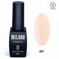 Гель-лак Milano №001