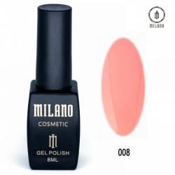 Гель-лак Milano №008
