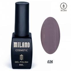 Гель-лак Milano №026