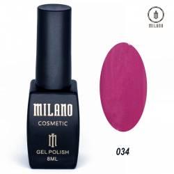 Гель-лак Milano №034