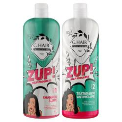 Набор для кератинового выпрямления волос Inoar G-Hair Zup Kit 2x1000 ml