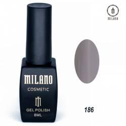 Гель-лак Milano №186