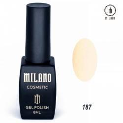 Гель-лак Milano №187
