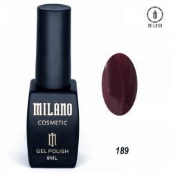 Гель-лак Milano №189