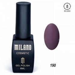 Гель-лак Milano №190