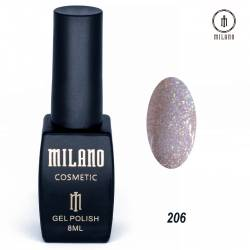 Гель-лак Milano №206
