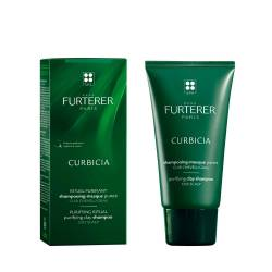 Шампунь-маска на основе глины против жирных волос Rene Furterer Curbicia Purifying Clay Shampoo 100 ml