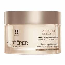 Интенсивная восстанавливающая маска для поврежденных и ослабленных волос Кератин Rene Furterer Absolue Keratine Ultimate Repairing Mask 200 ml