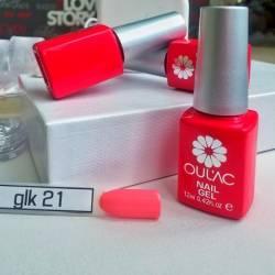 Гель-лак Oulac GLK 12 ml №021