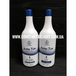 Alpha Ton горячий boteks для волос 2x1000 ml