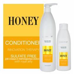Безсульфатный медовый кондиционер Jerden Proff Sulfate Free Honey Conditioner