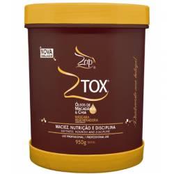 Ботокс для волос с маслом Ши и Макадамии Zap ZTox Oleos de macadamia & chia 950 ml