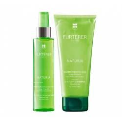 Набор для деликатного ухода за волосами Rene Furterer Naturia Set (shampoo/200 ml + spray/150 ml)
