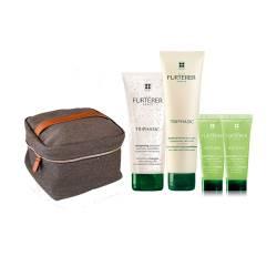 Набор против выпадения волос Rene Furterer Triphasic (shm/200 ml + balm/150 ml + shm/2x50 ml + bag)