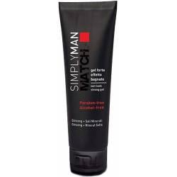 Акриловый гель для волос сильной фиксации без парабенов Nouvelle Simply Man Wet Look Strong Gel 150 ml