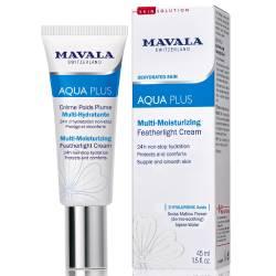 Активно увлажняющий легкий крем для лица Mavala Aqua Plus Multi-Moisturizing Featherlight Cream 45 ml