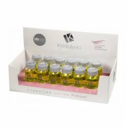 Увлажняющий лосьон для волос в ампулах BBcos Kristal Evo Hydrating Lotion 12x10 ml (фото 2)