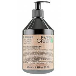 Анти-желтый шампунь для сухих и жестких волос Dikson Every Green 500 ml