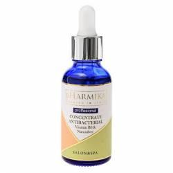Антибактериальный концентрат для лица с витамином В3 и наносеребром pHarmika Concentrate Antibacterial Vitamin B3 & Nanosilver 30 ml