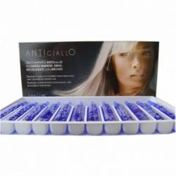 Антижелтая процедура + восстановление для осветленных волос Dikson Antigiallo 12x12 ml