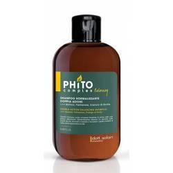 Балансирующий шампунь двойного действия Dott. Solari Phitocomplex Shampoo Normalizzante Doppia Azione 250 ml