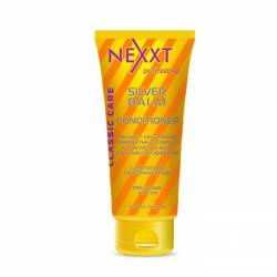 Бальзам-кондиціонер сріблястий для світлих і освітленого волосся з антіжелтим ефектом Nexxt Professional SILVER BALM-CONDITIONER 200 ml