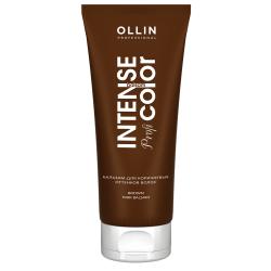Бальзам для коричневых оттенков волос Ollin Professional Brown hair balsam 200 ml