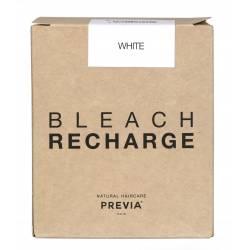 Беспылевая осветляющая пудра белая (запаска) Previa Natural Haircare Dust Free Powder Bleach White 500 g