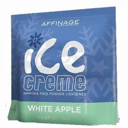 Безаммиачная пудра с ароматом яблока Affinage Ice Creme Powder Lightener 500 g