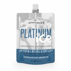 Безаммиачный осветляющий крем Affinage Platinum Ice 250 ml