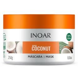 Безсульфатная маска для волос Inoar Coconut Mask 250 ml