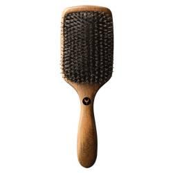 Деревянная щетка с силиконовыми  щетинками и натуральной шерстью кабана HH Simonsen Smooth Hair Brush