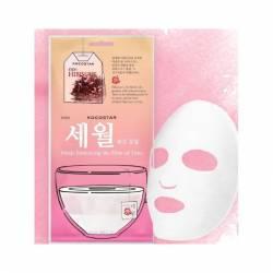 Детокс-маска для лица с гибискусом Kocostar Petals Embracing the Flow of Time 25 ml