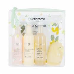 Дорожный набор Персик и Лимон Blancrème Travel Kit Peach & Lemon