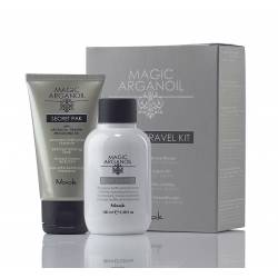 Дорожный набор Шампунь 100 мл + Маска 50 мл. Nook Magic Argan Oil Secret Travel Kit