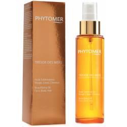 Драгоценное масло для лица, тела и волос Phytomer Beautifying Oil Face Body Hair Tresor Des Mers 100 ml