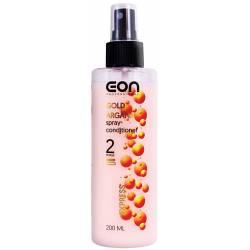 Двухфазный спрей-кондиционер для волос с аргановым маслом EON Professional Gold Argana Spray-Conditioner 200 ml