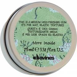 Эластик-гель для матовых подвижных текстур волос Davines More Inside Finishing Gum 75 ml