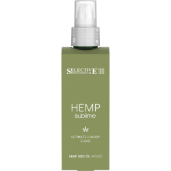 Восстанавливающий эликсир с маслом конопли для всех типов волос Selective Hemp Sublime Ultimate Luxury Elixir 100 мл