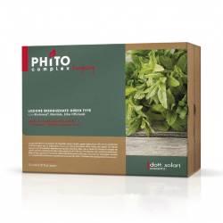 Энергетический лосьон для волос Зеленый тип Dott. Solari Phitocomplex Green Type Energizing Lotion 13x6 ml