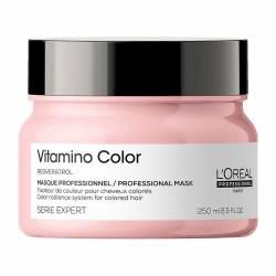 Маска для защиты и сохранения цвета окрашенных волос L'Oreal Professionnel Serie Expert Vitamino Color Resveratrol Mask 250 ml