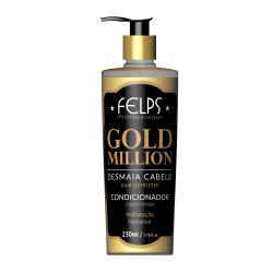 Увлажняющий кондиционер для тонких волос Felps Gold Million Condicionador 230 ml